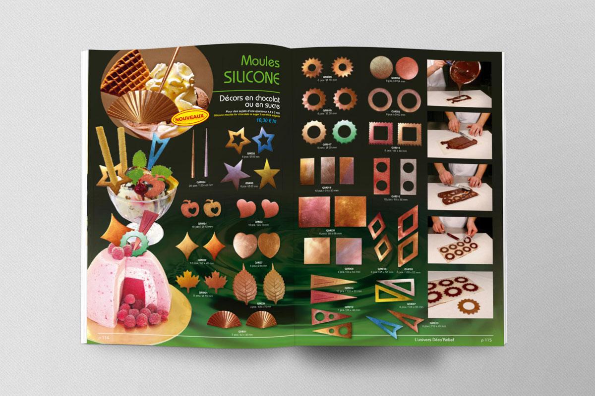 Catalogue Déco Relief 2008 | FSBconcept / Realisations graphiques