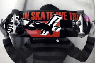 Board «In Skate We Trust»
