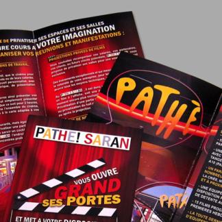 Plaquette Pathé Cinéma
