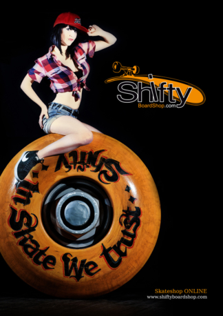 Affiche Pin-Up Shifty